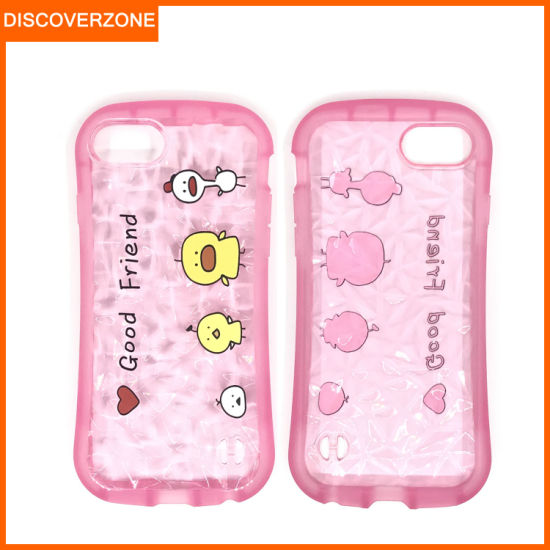 High Quality Cartoon TPU Mobile Phone Case for iPhone Soft Shockproof