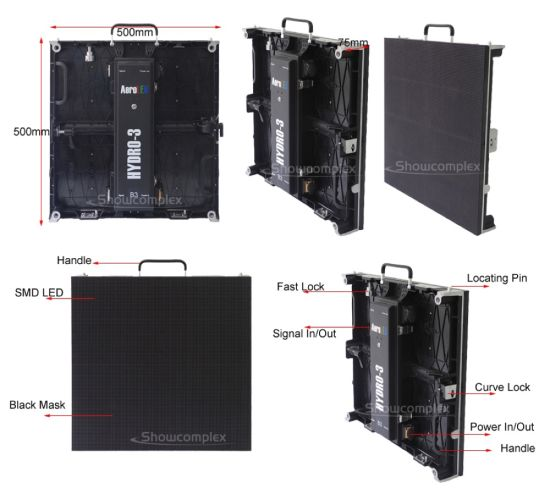 China Cost Effective of Indoor Full Color Rental LED Video