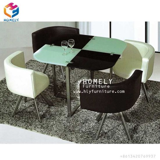 China Home Dinning Table Set/Dining Room Furniture/Glass Marble ...