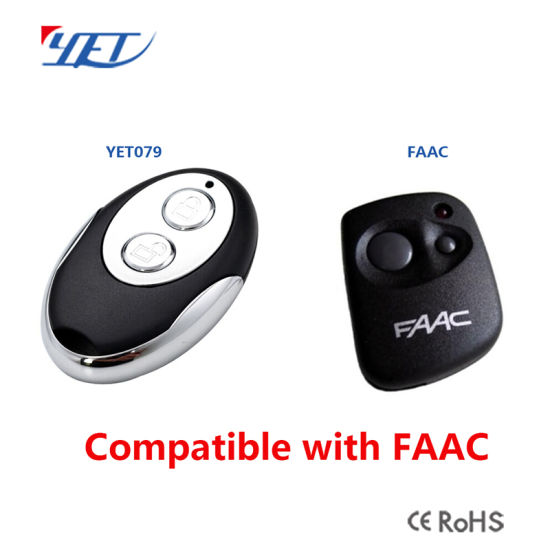 China On Sale 433mhz Faac Remote Control Compatible Control For Faac