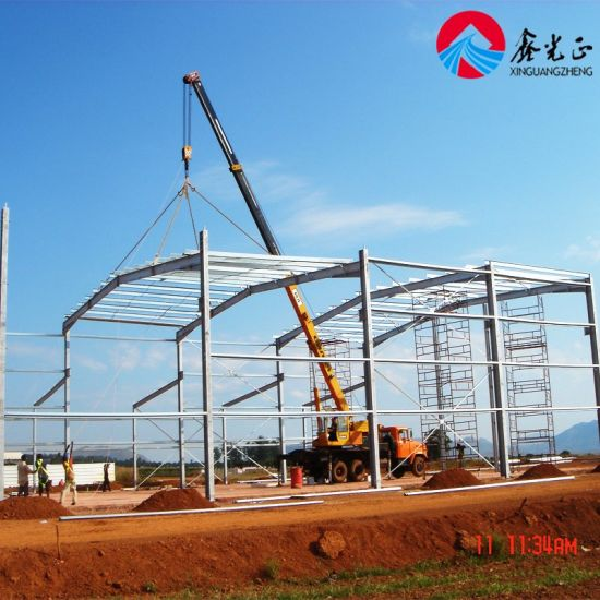 Prefabricated Steel Structure Construction Warehouse - Ce ISO BV SGS (SS-11)