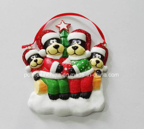 High Quality and New Black Bear Christmas Ornament pictures & photos