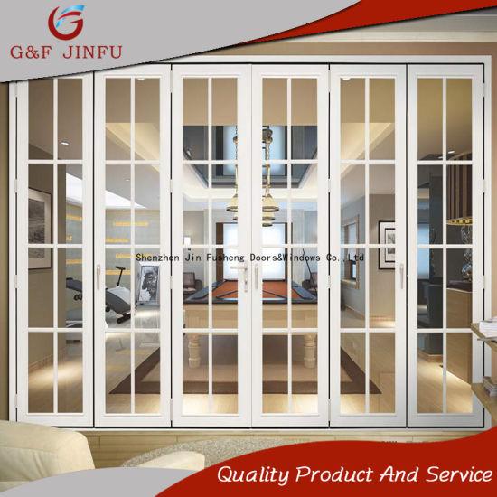 China Simple Design High Quality Aluminium Double Glazing Folding ...
