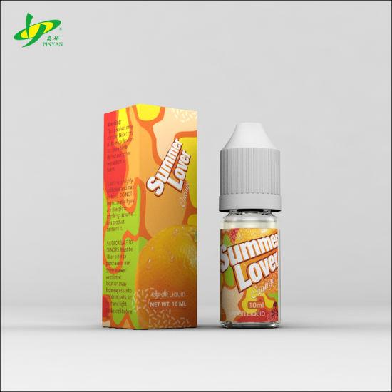 Hot Selling Wholesale OEM Pure Natural Flavor Orange Flavour E Liquid  Vaping Juice Vapor Juice