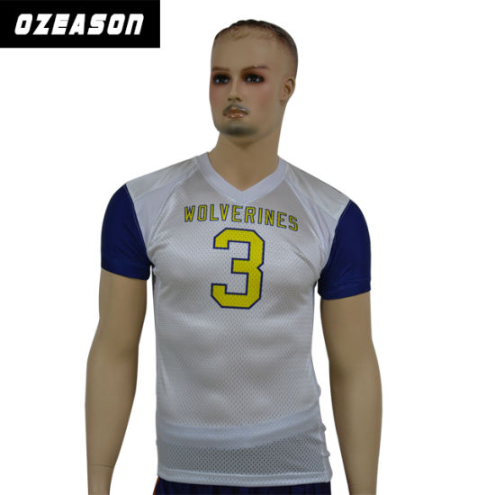 Custom American Football Shirt with Different Name & Number