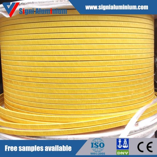 Fiberglass Silk Covered Aluminium Wire for Dry-Type Transformer