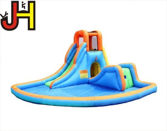 Customized Inflatable Water Slide for Kids Playing pictures & photos