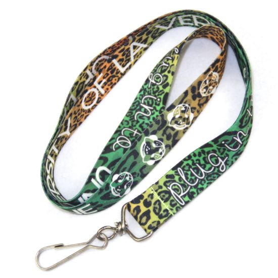 Promotional Gift Custom Logo Heat Transfer Lanyard