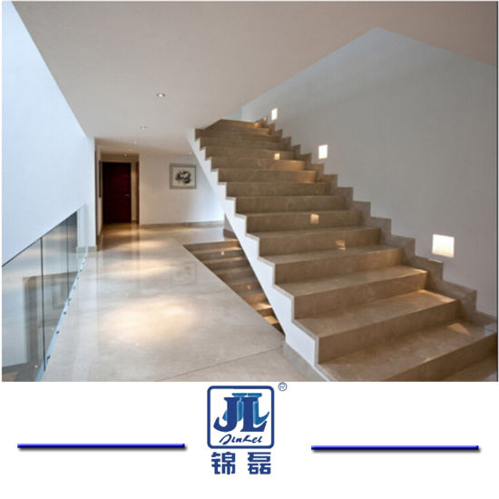 Natural Granite and Marble Stone Staircase for Interior Steps and Risers in Villa and Hotels pictures & photos