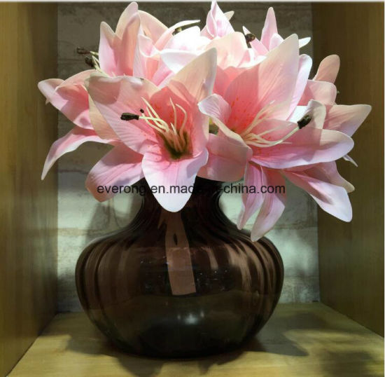 Whole silk flowers and vases flowers healthy latex lily of the valley whole real touch wedding bouquets canada lily artificial flowers latex artificial mightylinksfo