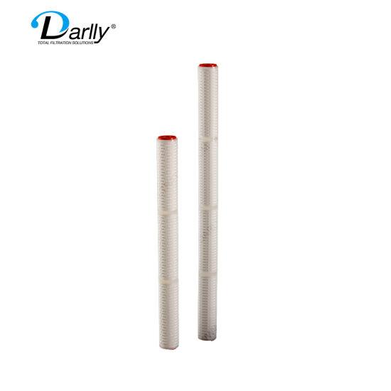Darlly 40 Inch PP Micron Pleated 1um 3um 5um 10um 20um 50um Filter Cartridge