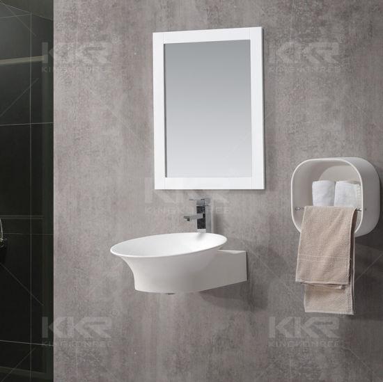 China Small Size Hand Wash Bathroom Basin
