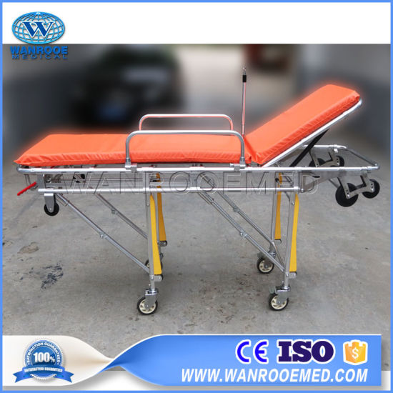 Ea-3c Aluminum Alloy Light-Weighted Ambulance Stretcher pictures & photos