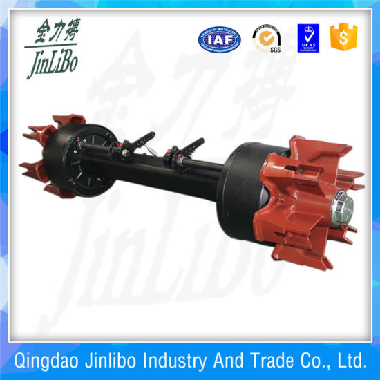 China Germany Type Axle - 6holes Spoke Trailer Axle