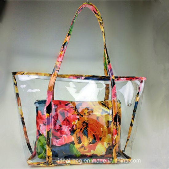 a19aab927a5d China 2018 Custom Factory Wholesale Flower Printed Jelly Bag - China ...