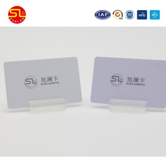 Free Sample Blank PVC RFID Smart Card pictures & photos