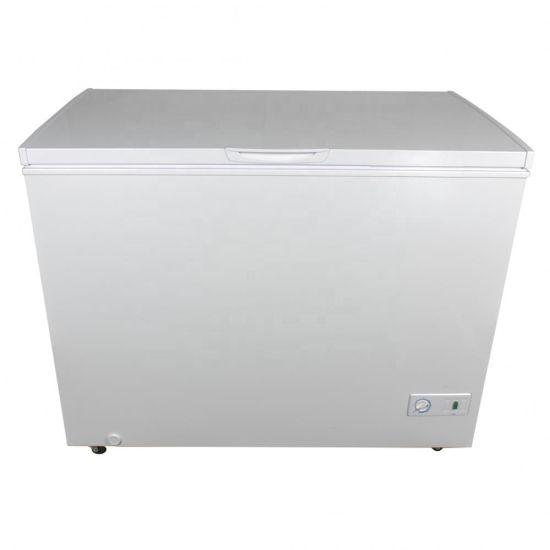 115V 60Hz 300L Single Top Open Soid Door Chest Freezer