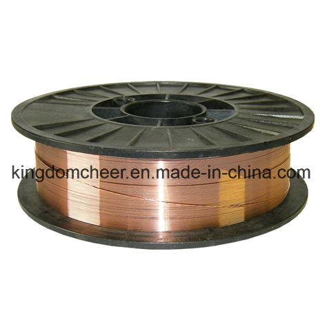 Er70s-6 Copper Coated CO2 Gas Shielded Welding Wire pictures & photos