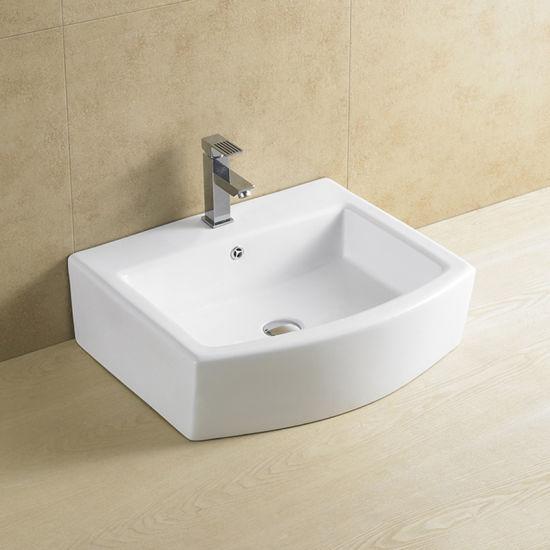 China Wholesale Bathroom Vanity Top Mount Sink China Bathroom Basin Sink