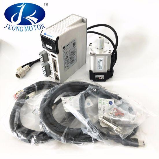 Leadshine AC Servo Motor 200W 3000rpm 0.63n. M with Driver L5-400