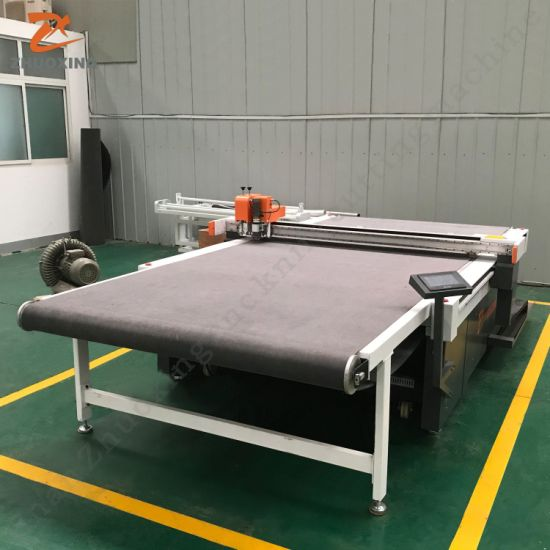 CNC Automatic High Speed Cloth Garment Shoe Footwear Making Machine Fabric Textile Knife Cutting Leather Processing Digital Plotter Fabctory Price Not Laser Die