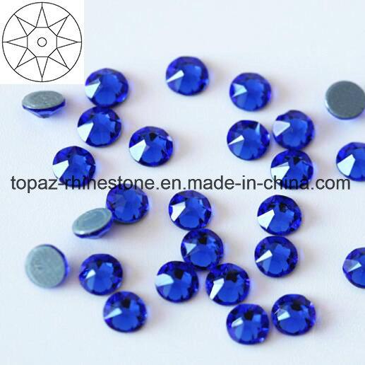 2018 Newest Best Ss20 Sapphire Hot Fix Rhinestone Glass Crystal Copy Preciosa Stone (HF-ss20 sapphire/5A grade)