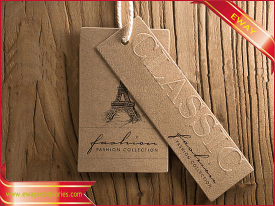 Paper Hangtag Custom Tag Price Tag for Garment pictures & photos