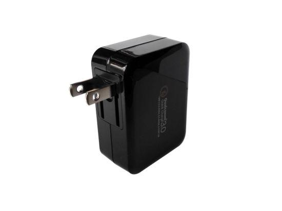 Hot Sale Dual Port Foldable Plug USB QC3.0 Wall Charger