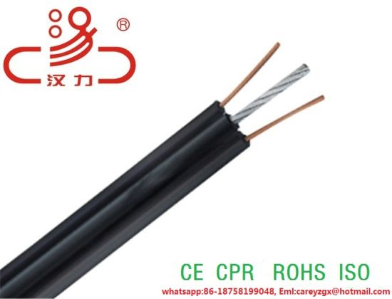 Telephone Cable Drop Wire with Aramid Strength & Telephone Cable pictures & photos
