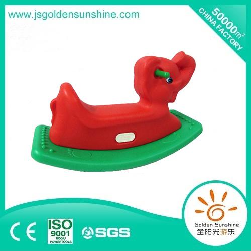 Children's Plastic Toy Plastic Rocking Horse for Fun