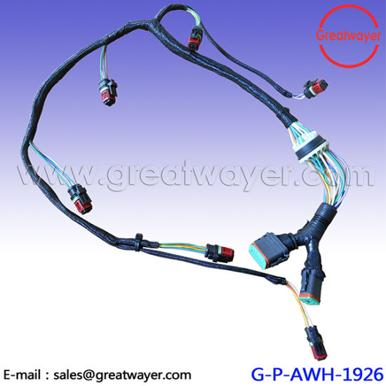 china 292 0644 cat injector wiring harness c15 generator 2920644 rh greatwayer en made in china com Fuel Injector Connection LS1 Fuel Injector Connector