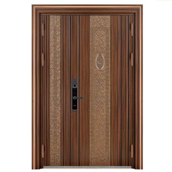 Colored Classical Stainless Steel Security Door Design Front Door