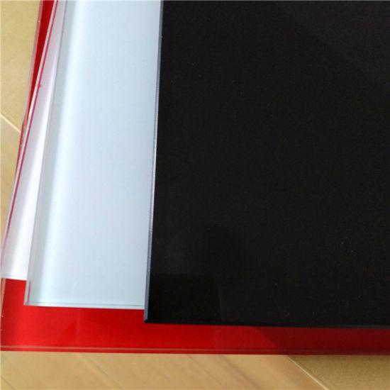 4mm Black Tempered Glass for Splash Board