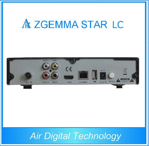 Satellite Receiver Zgemma Star LC Set Top Box with Internet Connection
