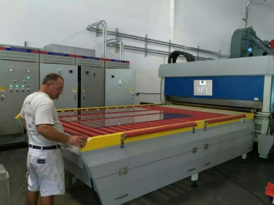 Flat and Bend Glass Tempering Machine