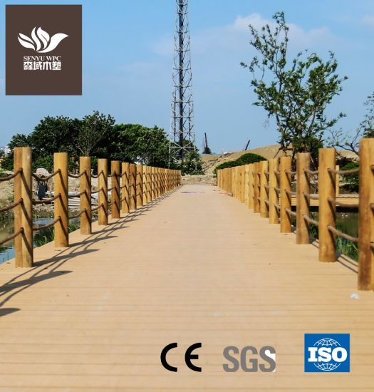 Eco-Frinendly Outdoor Anti-Breaking WPC Flooring