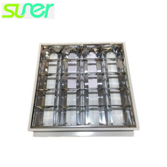Recessed Grille Light with LED T8 Tubes 4X9w Louvre Fixture Warm White pictures & photos