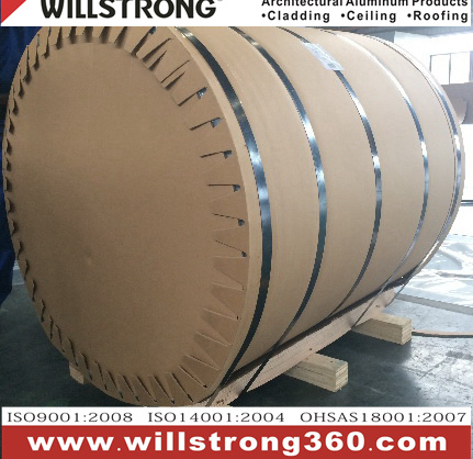 PVDF Coating Aluminum Coil in Metalic Color pictures & photos