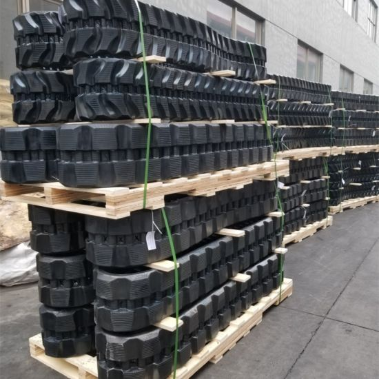 Rubber Track 400*74*72 for Kobelco Sk45sr Excavator pictures & photos
