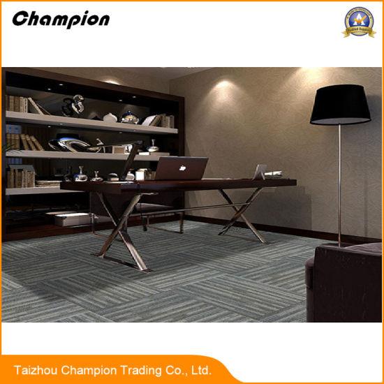 PVC Indoor Carpet Tiles Vinyl Commercial Carpet Tiles or Plank, Latest Carpet Tiles Look Dry Back PVC Vinyl Carpet Tiles Prices