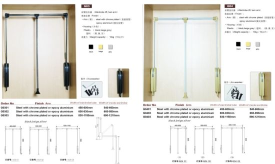 Closet Lift For Hanging Clothes