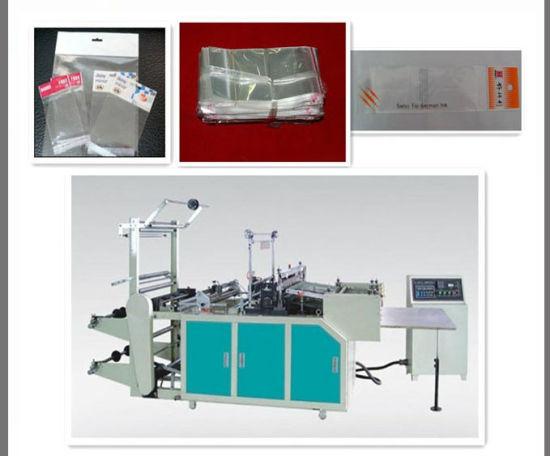 High Speed Plastic PE PP Side Sealing Bag Making Machine for Clothe Bag Bread Bag OPP Film Folding Machine