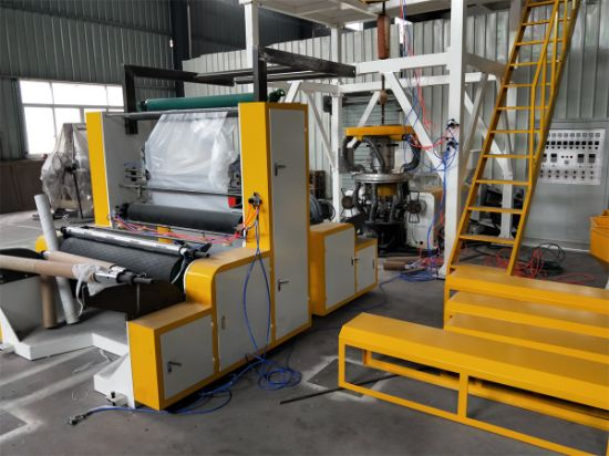 China 3-Layer ABA Co-Extrusion Film Blowing Machine - China