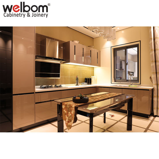 Welbom High Gloss Lacquer Kitchen Cabinet
