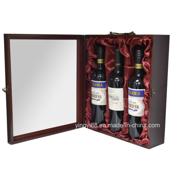 Custom Design Acrylic Wine Display Case pictures & photos
