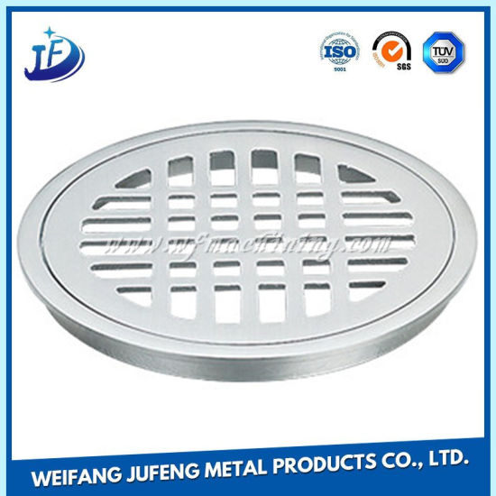 Custom Steel Sheet Metal Fabrication Stamping Covers for Toilet Drain pictures & photos