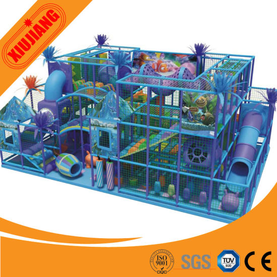 Attractive CE Passed Shopping Mall Kids Indoor Soft Play (XJ1001-5445)