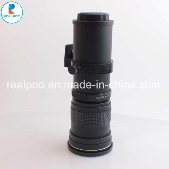 Good Quality 420-800mm F/8.3-16 Camera Lens for DSLR Camera pictures & photos