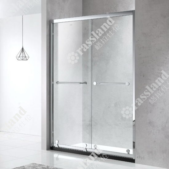 G82p02 Wholesale Price High Grade 304SUS Sliding Glass Bathroom Luxury Shower Room