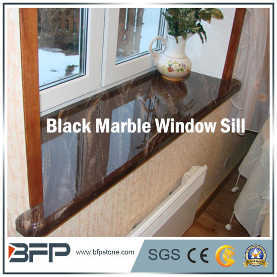 Black Natural Marble Window Sill for House Interior Decoration & China Black Natural Marble Window Sill for House Interior Decoration ...